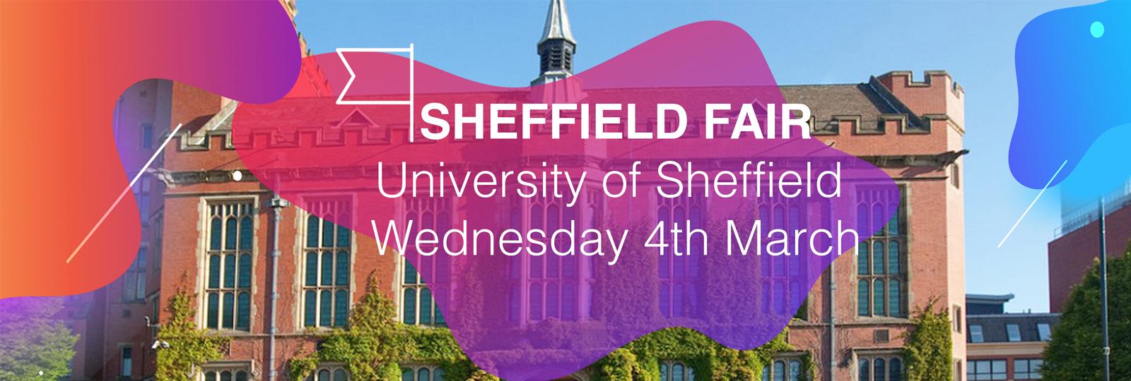 University of Sheffield Spring 2020 Fair