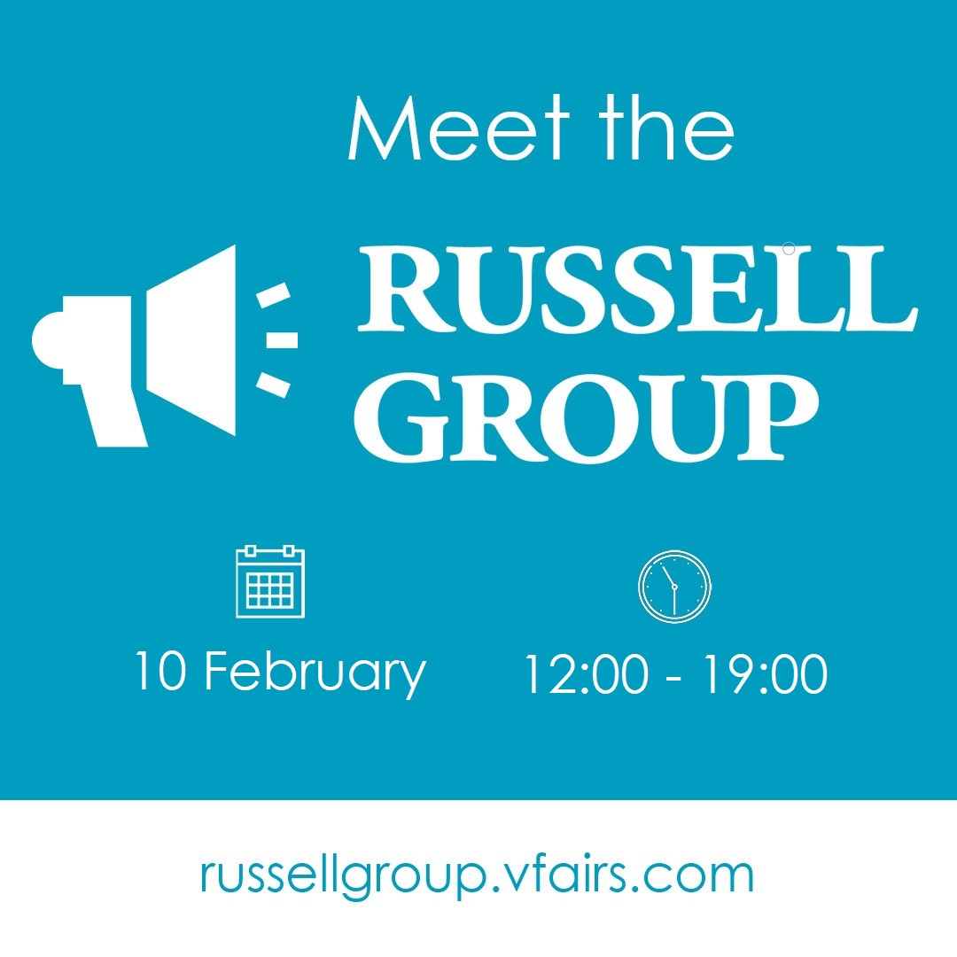 Meet The Russell Group V-Fair Guide
