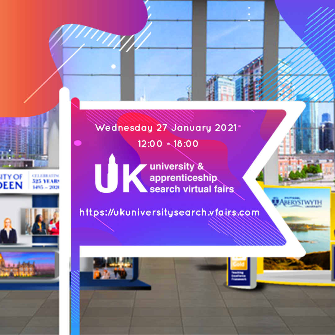 Your Guide To UK University & Apprenticeship Search's Virtual Fair
