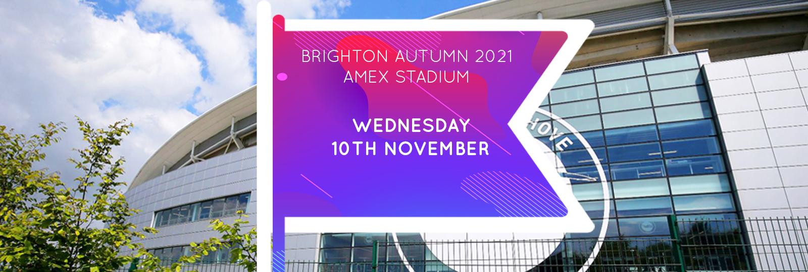 Brighton Autumn 2021 Fair