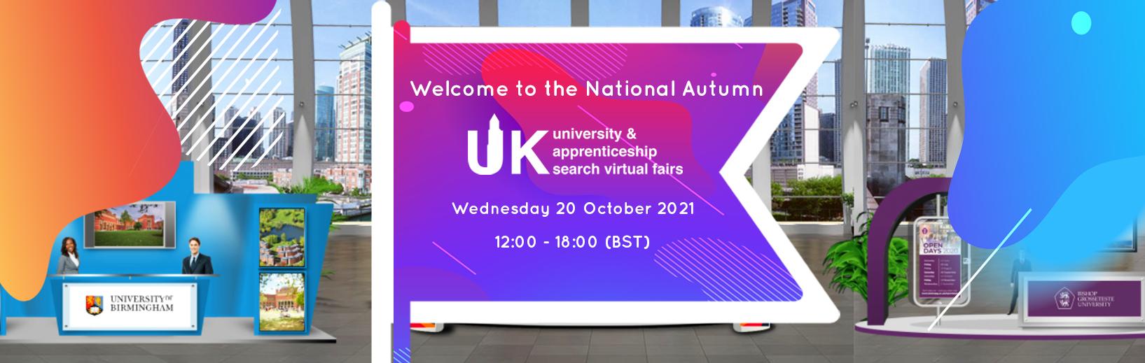 National Virtual Fair Autumn 2021 Fair