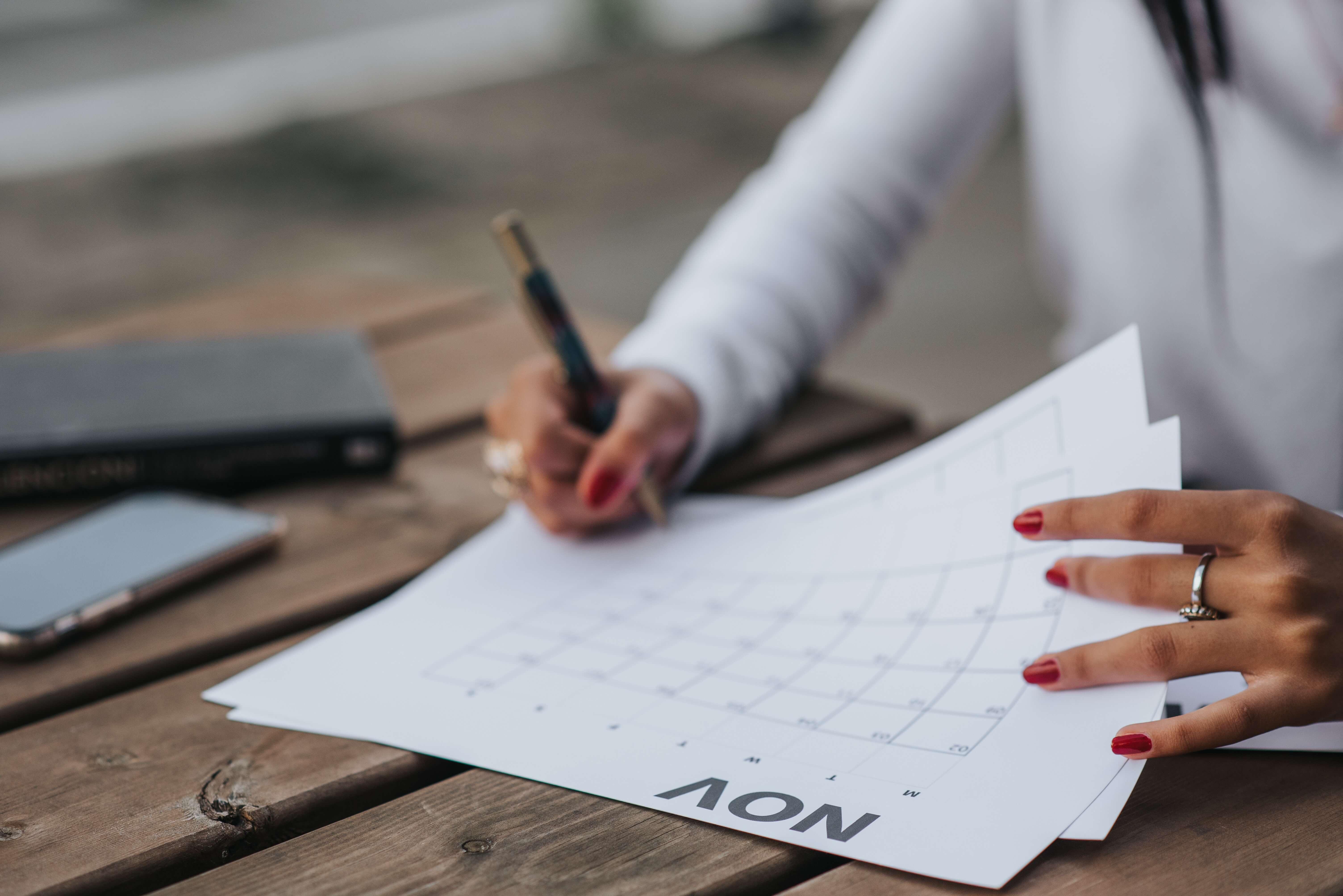 Year 13 Deadline Checklist