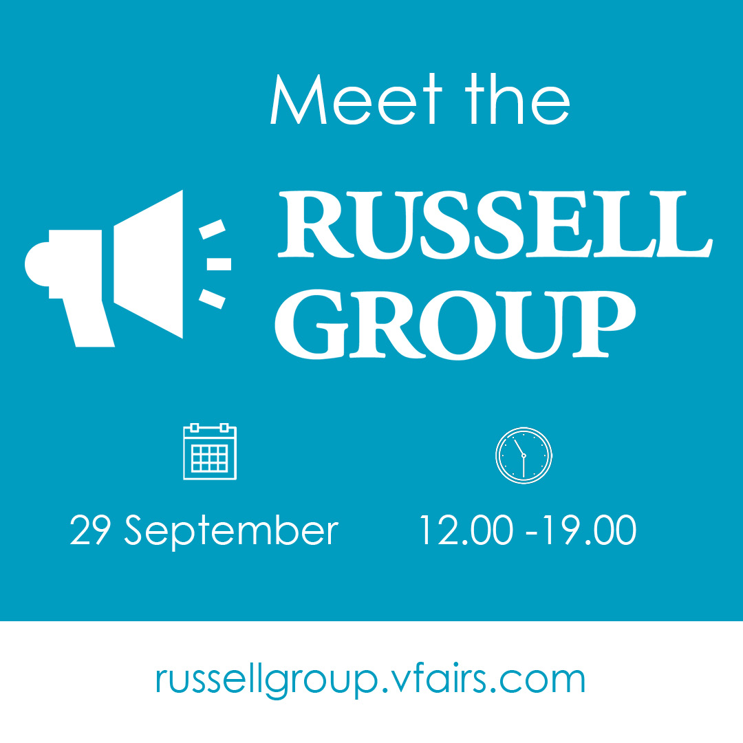 Meet The Russell Group Virtual Event Guide